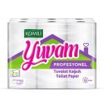Komili Yuvam 48 Rulo Ev Tipi Tuvalet Kağıdı  180Y