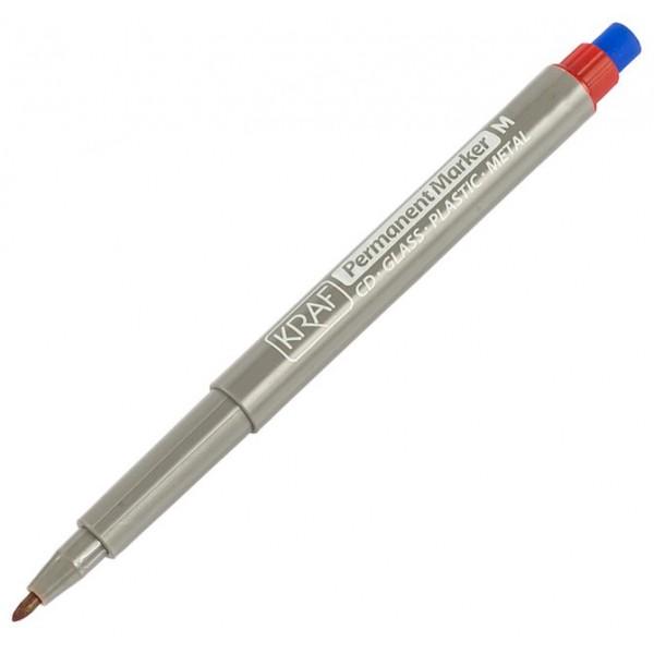 Kraf Asetat Kalemi Silgili (S) 270 Kırmızı