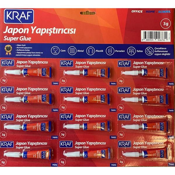 Kraf Japon Yapıştırıcı 3g 760G