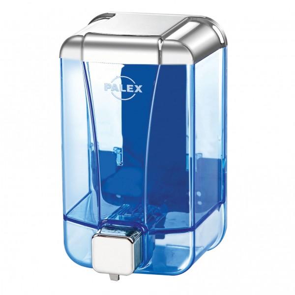 Palex Sıvı Sabun Dispenseri Şeffaf Krom 1000 cc