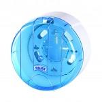 Palex Pratik İçten Çekmeli Tuvalet Kağıdı Dispenseri - Şeffaf Mavi