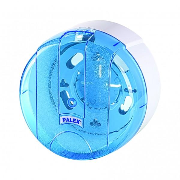Palex Mini Pratik İçten Çekmeli Tuvalet Kağıdı Dispenseri - Şeffaf Mavi