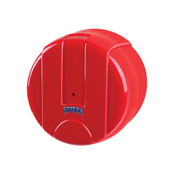 Palex Mini Pratik İçten Çekmeli Tuvalet Kağıdı Dispenseri - Kırmızı