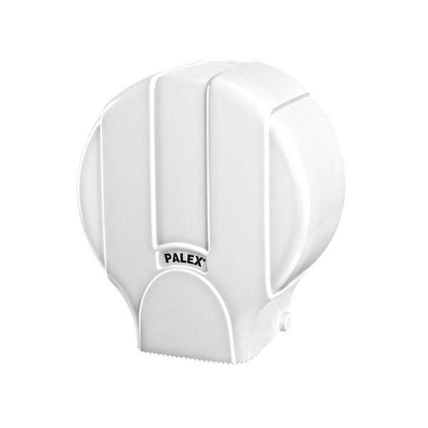 Palex Standart Jumbo Dıştan Çekmeli Tuvalet Kağıdı Dispenseri - Beyaz