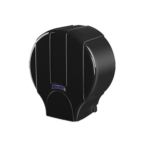 Palex Standart Jumbo Dıştan Çekmeli Tuvalet Kağıdı Dispenseri - Siyah