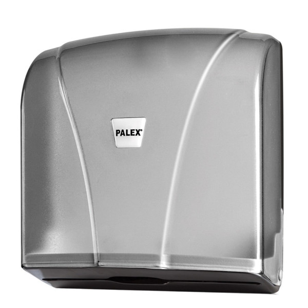 Palex Z Katlamalı Havlu Dispenseri - Şeffaf Füme 21 cm