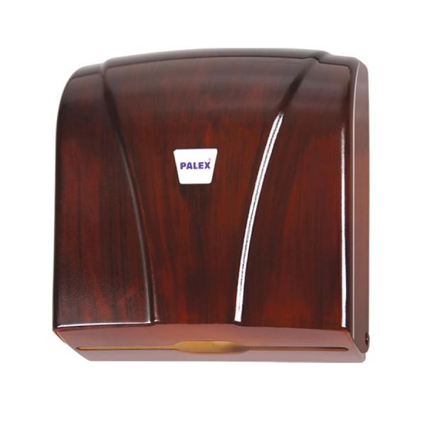 Palex Z Katlamalı Havlu Dispenseri - Ahşap  Görünümlü 21 cm