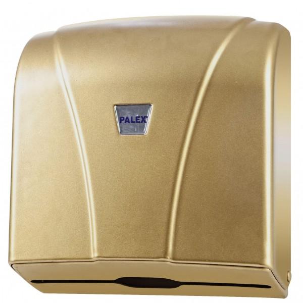 Palex Z Katlamalı Havlu Dispenseri - Gold 21 cm