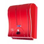 Palex Prestij Sensörlü Havlu Dispenseri - Kırmızı 21 cm
