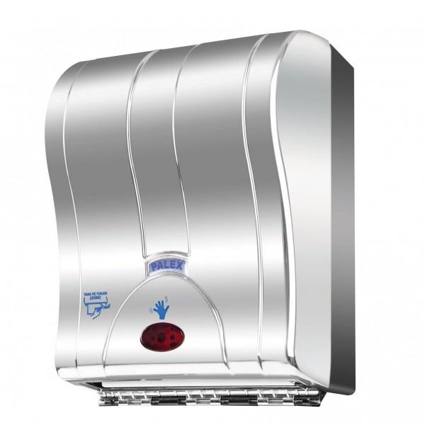 Palex Prestij Sensörlü Havlu Dispenseri - Krom Kaplama 21 cm