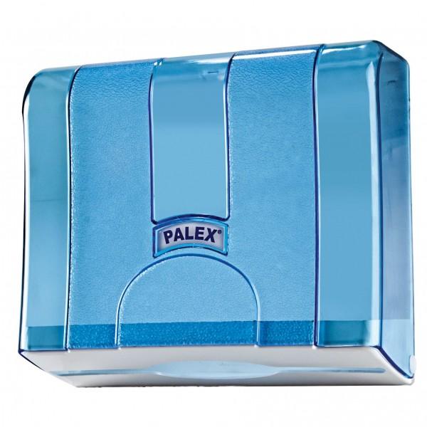 Palex Standart Z Katlamalı Havlu Dispenseri - Şeffaf Mavi 21 cm