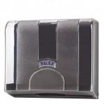 Palex Standart Z Katlamalı Havlu Dispenseri - Şeffaf Füme 21 cm