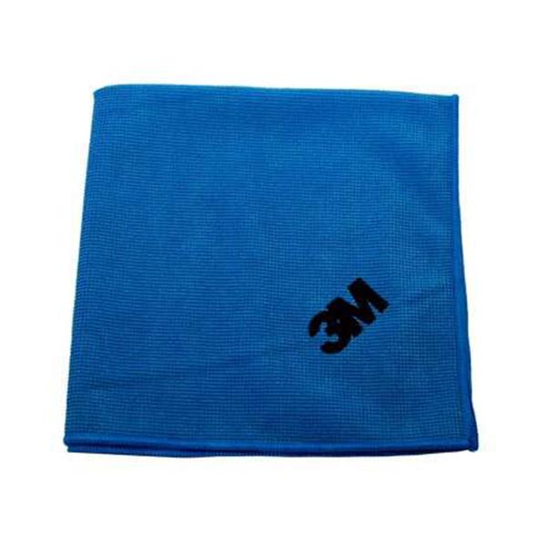 Scotch Brite 3M Mikrofiber Bez Mavi 36 x 36 Cm - 10 Adet