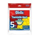 Banat Bella %30 Mikrofiberli Temizlik Bezi - 5 Adet