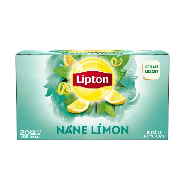 Lipton Bardak Poşet Çay Nane Limon 2G X 20 Adet