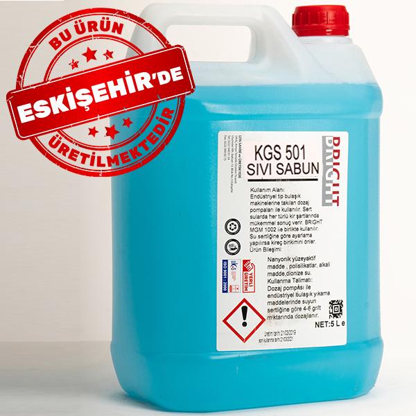 Bright Sıvı El Sabunu Mavi 5 L