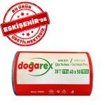 Doğarex Standart Mini Boy Çöp Torbası 40x50 cm 1 Rulo X 20 Adet