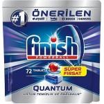 Finish Quantum 72'li Bulaşık Makinesi Tableti