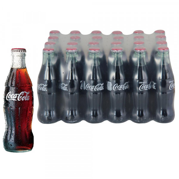 Coca Cola Cam Şişe 200 ml X 24 Adet