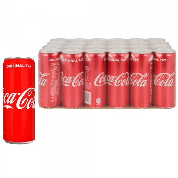 Coca Cola 330 ml X 24 Adet