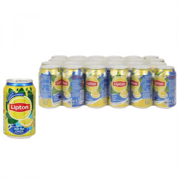 Lipton Ice Tea Limon Aromalı 330 ml X 24 Adet