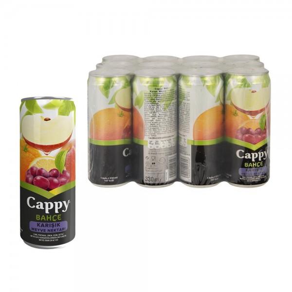 Cappy Meyve Suyu Karışık Meyve Aromalı 330 ml X 12 Adet