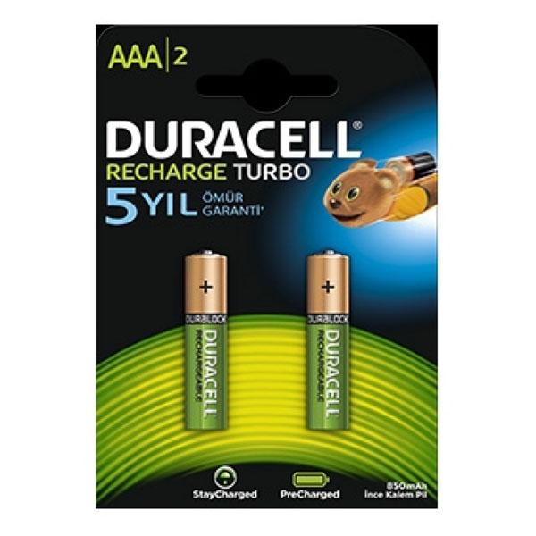 Duracell Şarj Edilebilir AA Pil 2500 Mah 1.2V 2 Adet