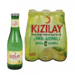 Kızılay Maden Suyu Limon Aromalı Cam Şişe 200 ml X 6 Adet