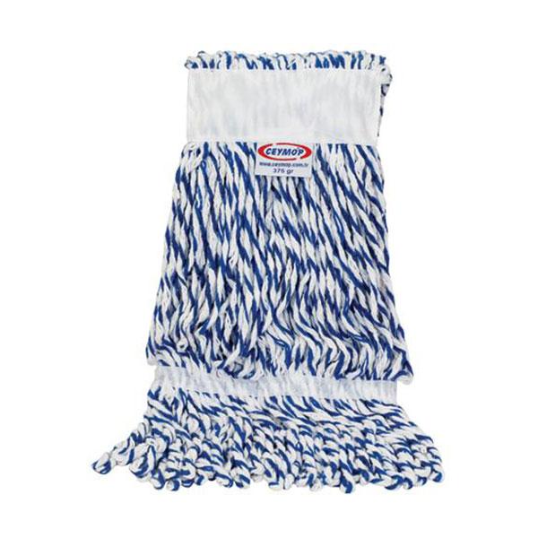 Ceyhanlar Extra Islak Mop Dar Mavi-Beyaz