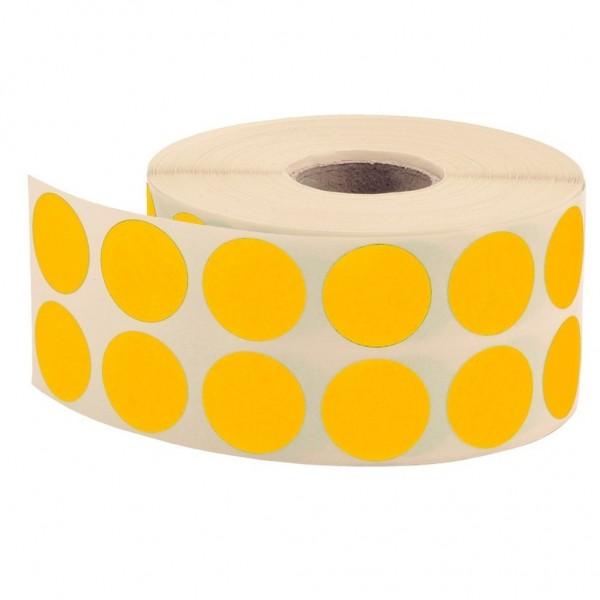 Tanex Nokta Etiketi 20 Mm Sarı 2500'lü