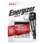 Energizer Max Alkaline AAA İnce Kalem Pil 1.5 V 4 Adet